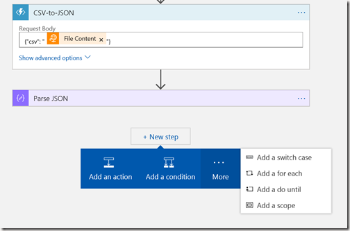 AZUREportal Ent Integration and LogicApp create 28 add function app to Logic app