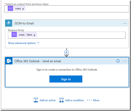 AZUREportal Ent Integration and LogicApp create 33 add function app to Logic app
